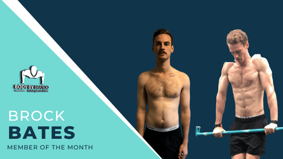 Getting lean, building muscle and smashing muscle-Ups: Meet our member of the month