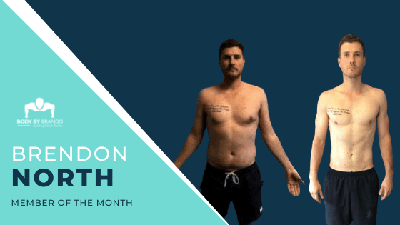 From knee push-ups to handstand walking like a boss. Meet our feature member, Brendon.
