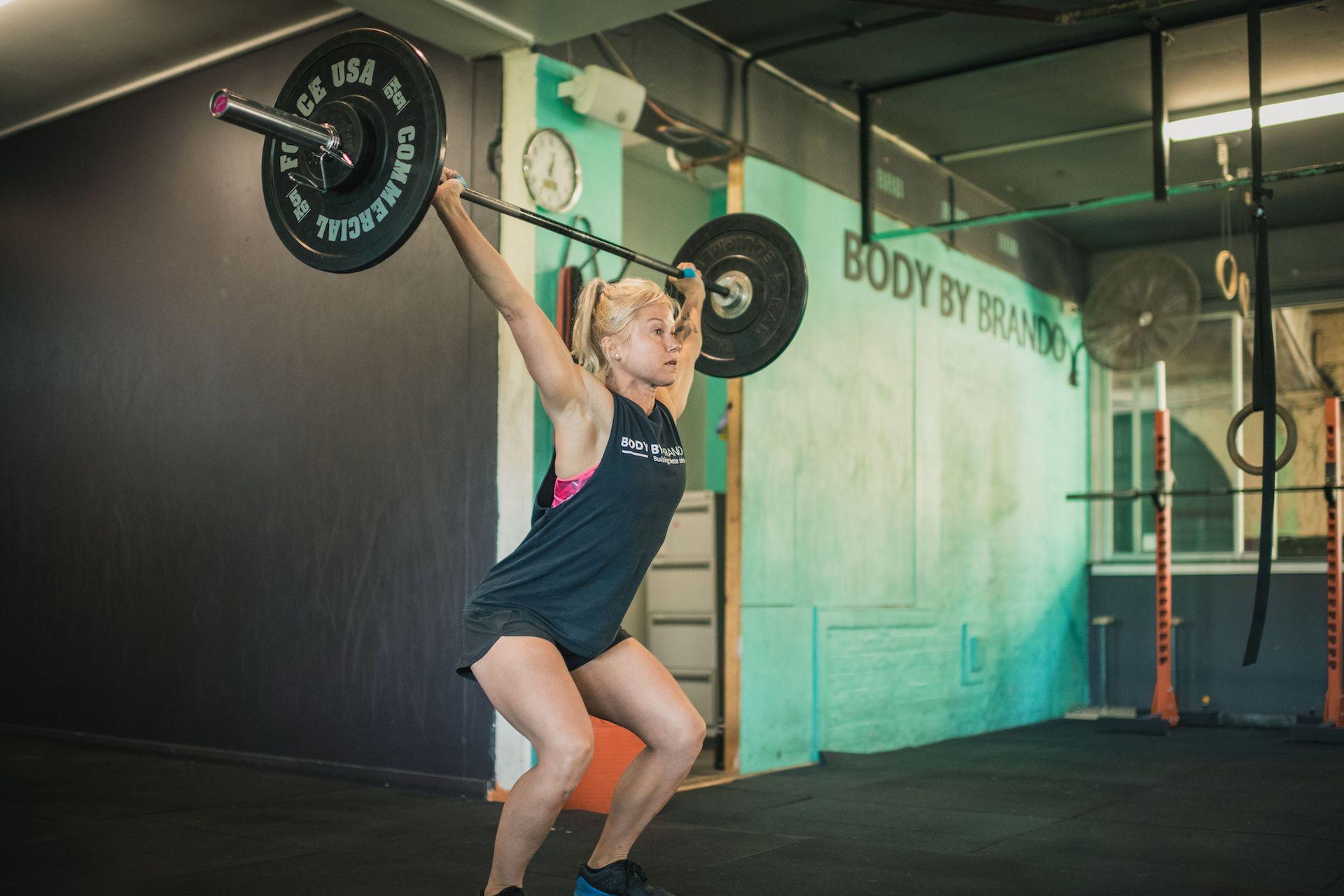 snatch pull: Fitness Training Paddington Sydney