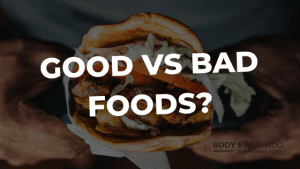 "Are there such things as ""bad"" foods?"
