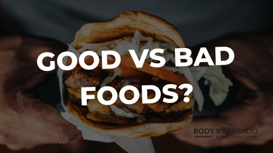 """Are there such things as """"bad"""" foods?"""