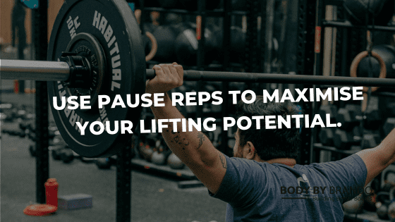 Paused reps: what are they and how they can improve your performance whilst decreasing your injuries.