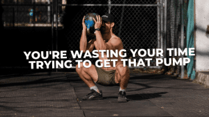 Read more about the article You're wasting your time trying to get that pump