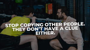 Read more about the article Stop replicating what other people are doing